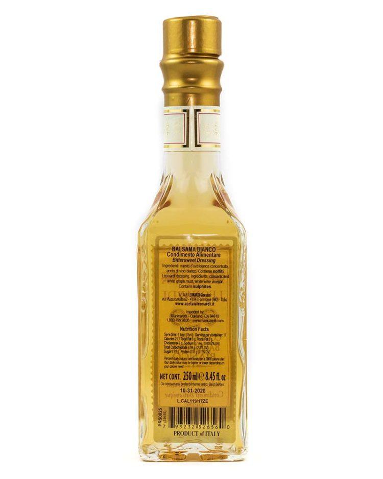 White Balsamic Condiment-back