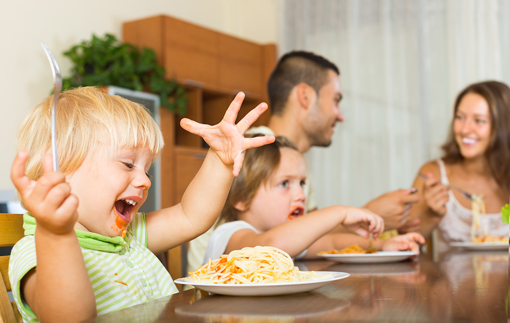 The entire family can enjoy Manny's Choice Italian Food Products