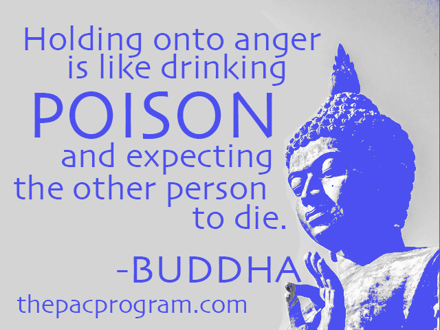 The Buddha quote about Managing Anger The Pac Program Outpatient addiction treatment anger management educational life skills training