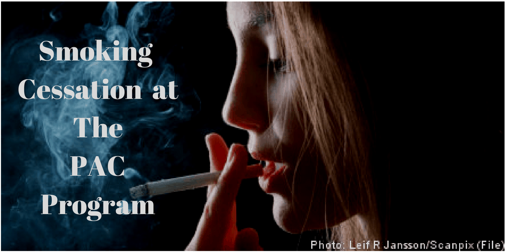 Girl contemplating Smoking Cessation at the PAC program outpatient addiction treatment network