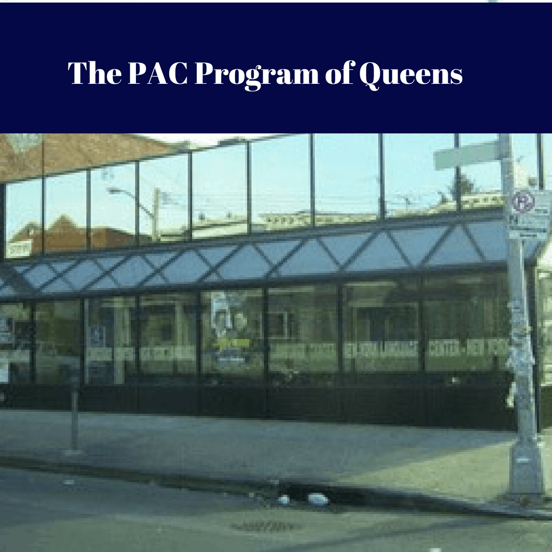 Image of the reception desk at The PAC Program of Queens Outpatient Drug Treatment