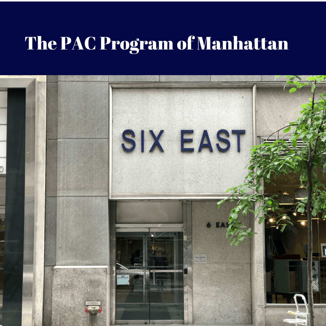 Image of the reception desk at The PAC Program of Manhattan Outpatient Drug Treatment