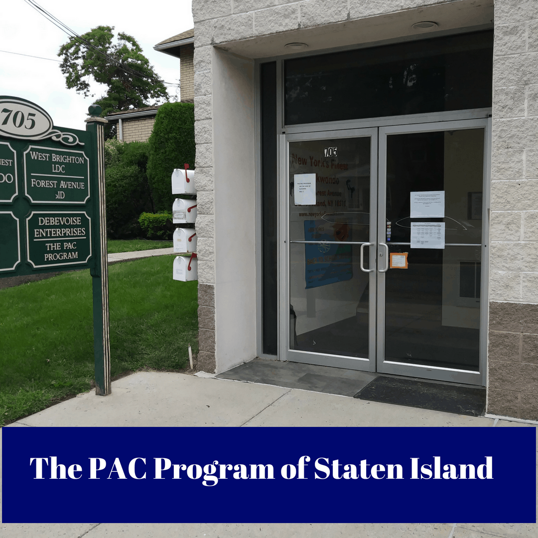 Image of the reception desk at The PAC Program of Staten Island Outpatient Drug Treatment