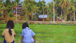 Cambodia – Custom Oil Painting