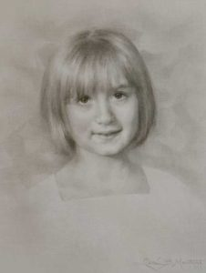 Clem – Child Portrait in Graphite