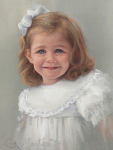 Louise – Child Portrait in Oil