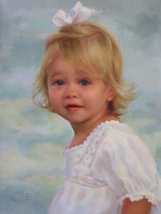 McCulloh – Child Portrait in Oil