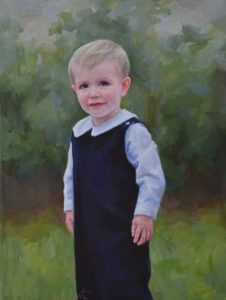 William-Boy's Oil Portrait