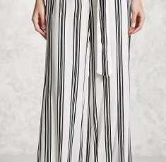 Forever 21 Contemporary Striped Pants