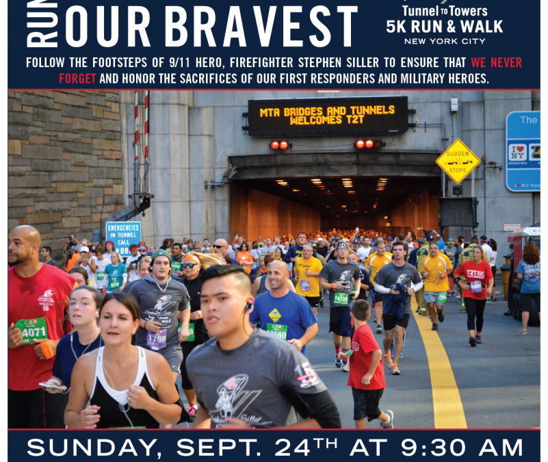 Tunnel to Towers 5K Run & Walk New York City