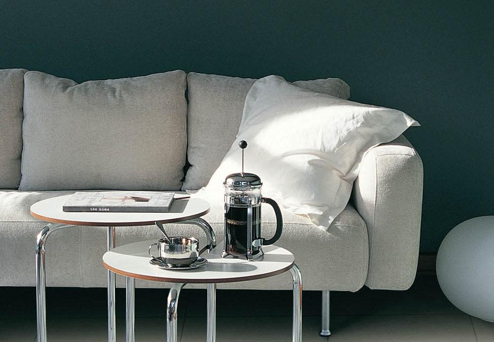 Stylish Living Room with LVT Floors