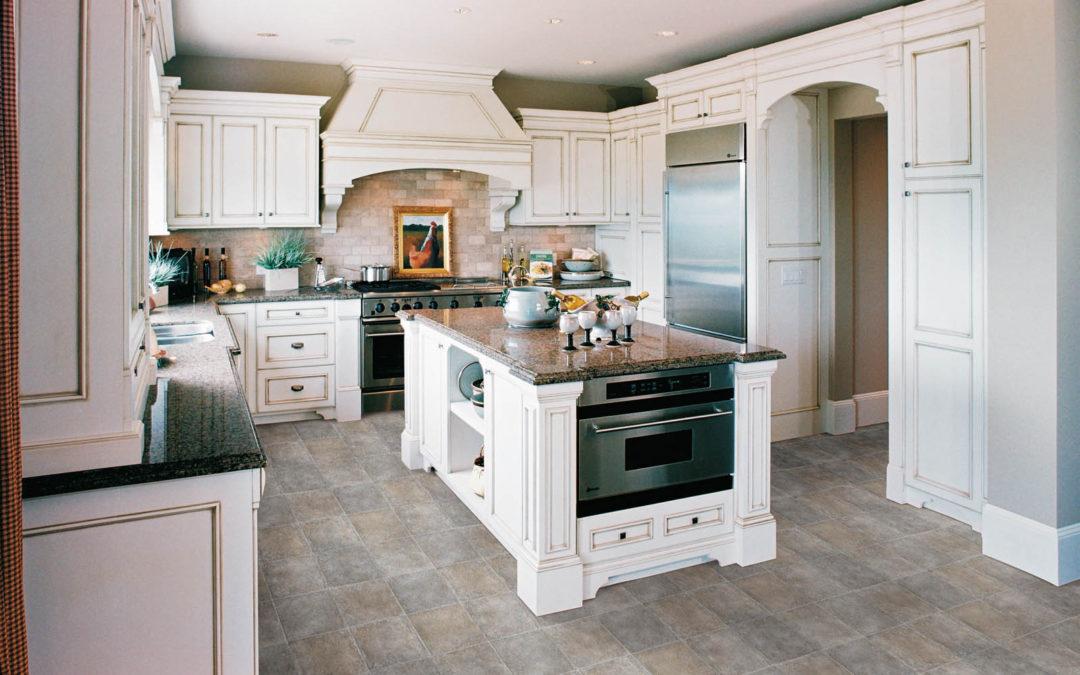 Luxury Kitchen with LVT Floors