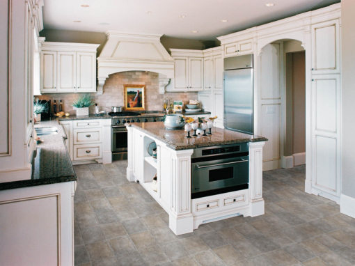 Luxury Kitchen with LVT Floors