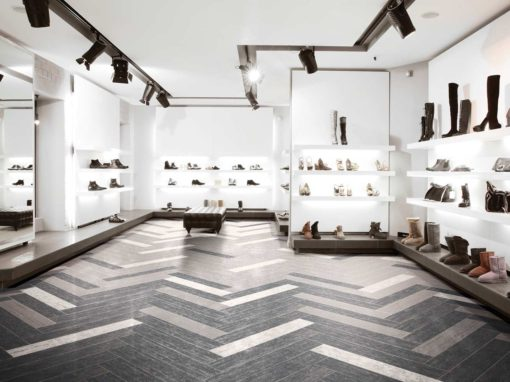 Retail Store with Tile Floors