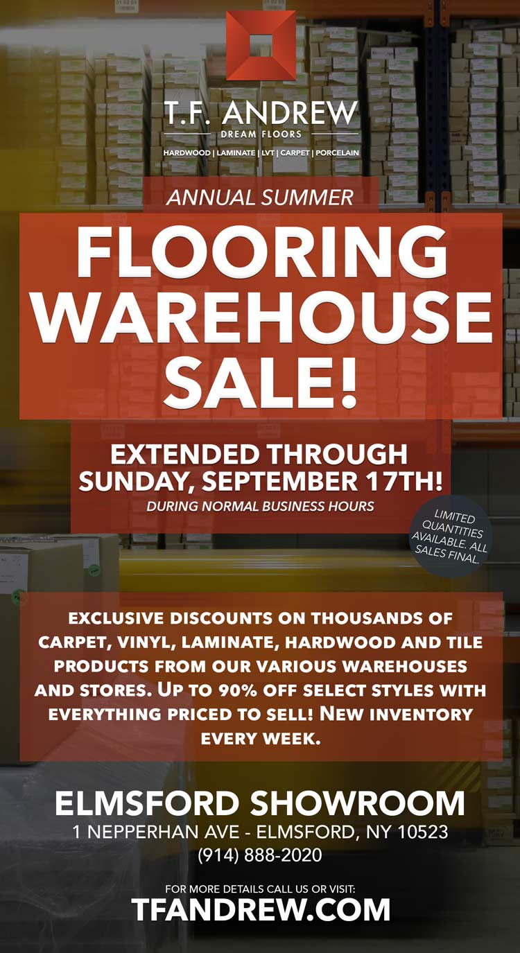 flooring sale westchester, new york.