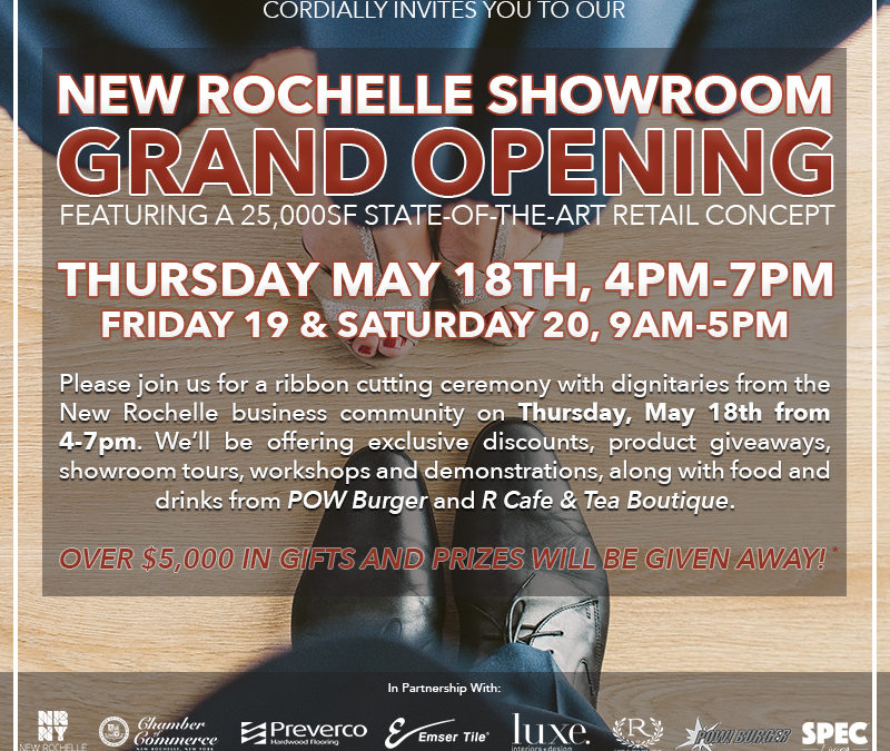 TF Andrew Announces New Rochelle Showroom Opening May 18th