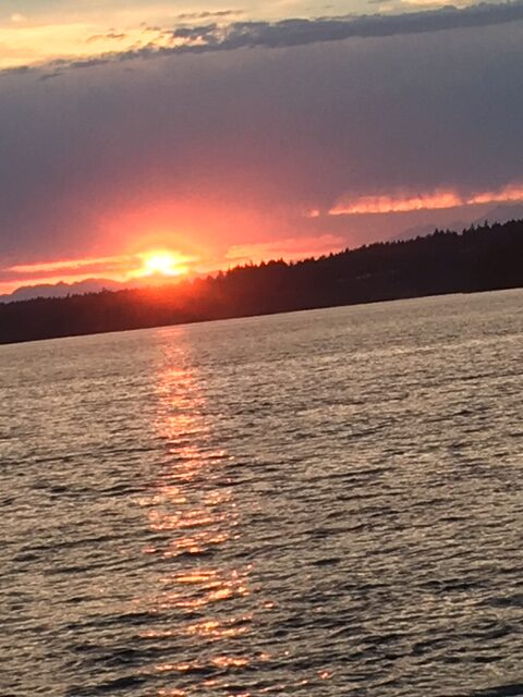 Sunset, Puget Sound