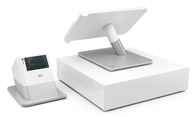 Clover System POS w/Swivel Stand, Printer & Cash Drawer