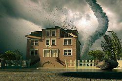 Stormdamagedhousetornado