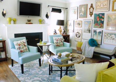 Pasadena House – Living Room