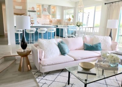 HGTV Beach Condo – Living Room