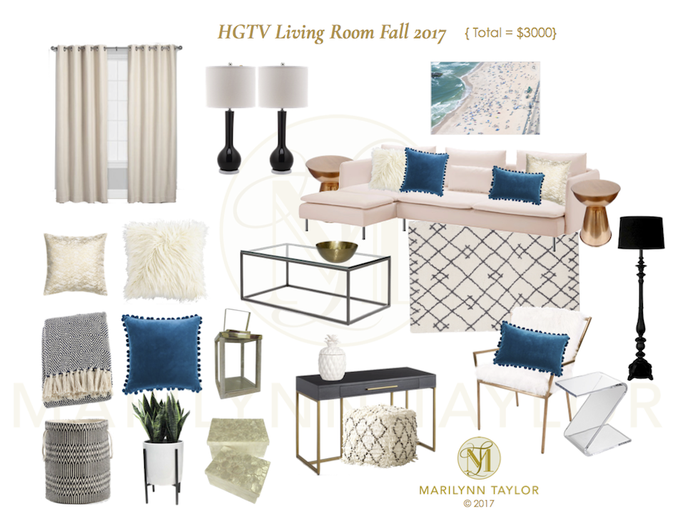 HGTV, instant room, mood board, room to go, room in an instant, downloadable, round up