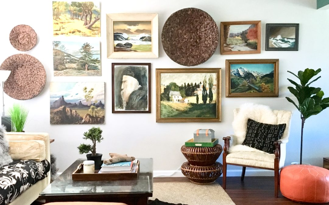How to Hang an Art Wall