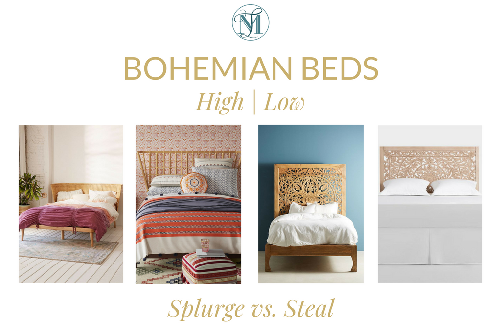 Splurge Vs. Steal – Bohemian Beds