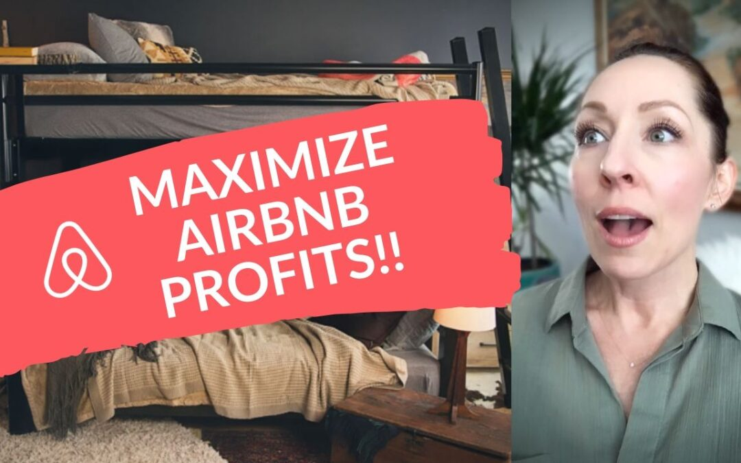 airbnb, top 5 tips, host, Superhost, Vrbo, vacation rental, short term rental, how to, guide, download, coaching, Marilynn Taylor, expert, bunks beds, maximize, profits, design, bedroom