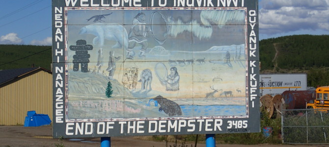 Back on the Dempster to Alaska