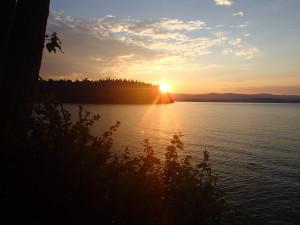 Sunrise Babine Lake