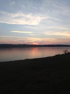 Sun set 10 Mile Lake