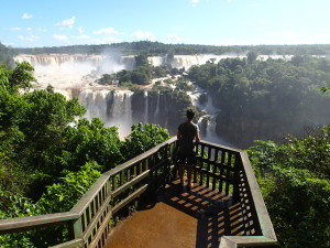 Spectacular views of the falls