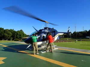 First Helicopter ride for us ever, what an experience