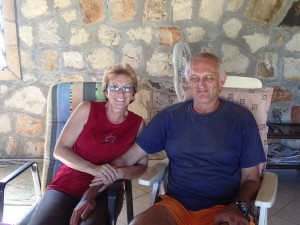 Klaus and Andrea, our hosts in Paraguay