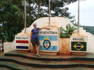 Three countries join near Puerto Iguazu