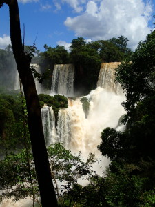One of many falls at Iguazu