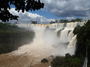 Iguazu Falls from the Argentinian Side