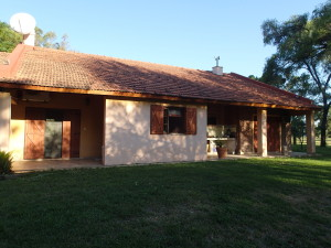 Estancia House, we had it just for ourselves