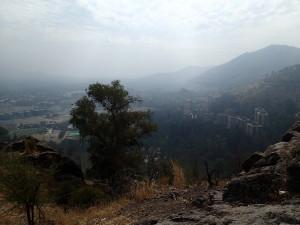 Sick smog over Santiago