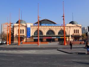 Old Central Train Station in Santiago