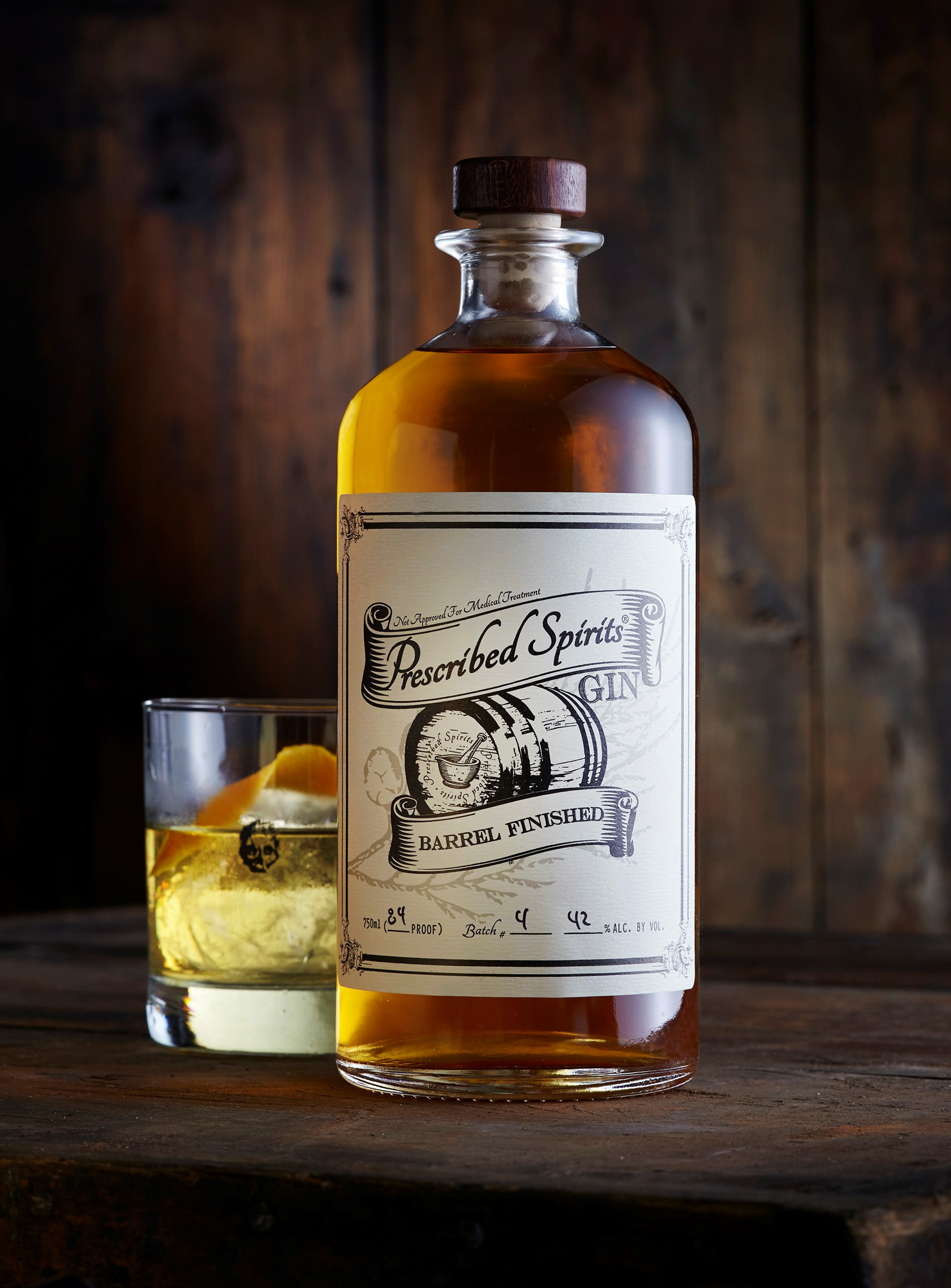 Wine Enthusiast: Prescribed Spirits Barrel Finished Gin