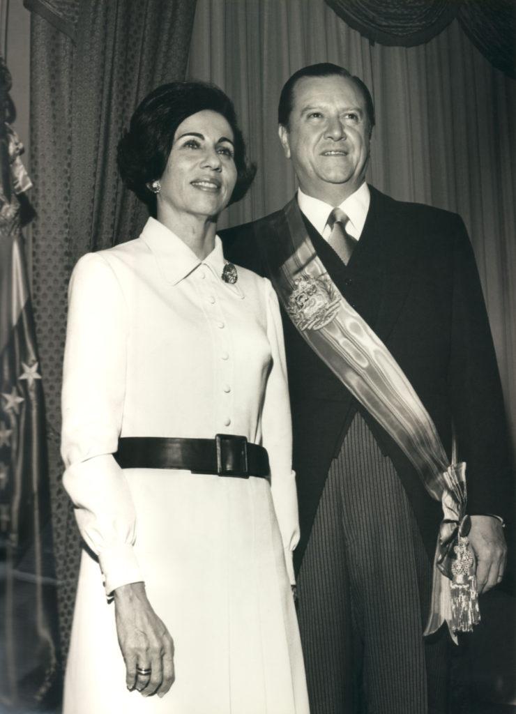 Rafael Caldera y Alicia Pietri