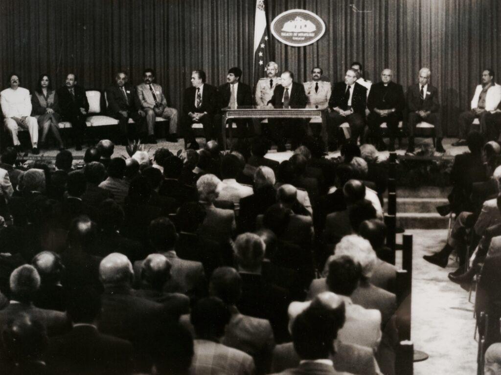 Segundo gobierno Rafael Caldera.