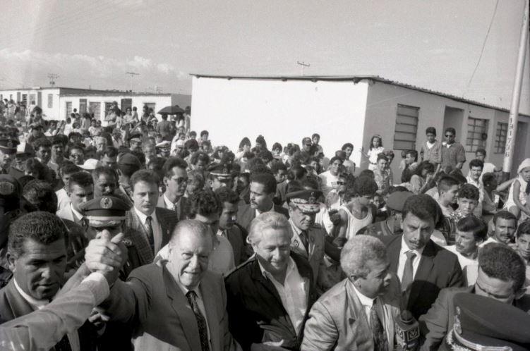 Rafael Caldera y Salas Romer en Carabobo 1994