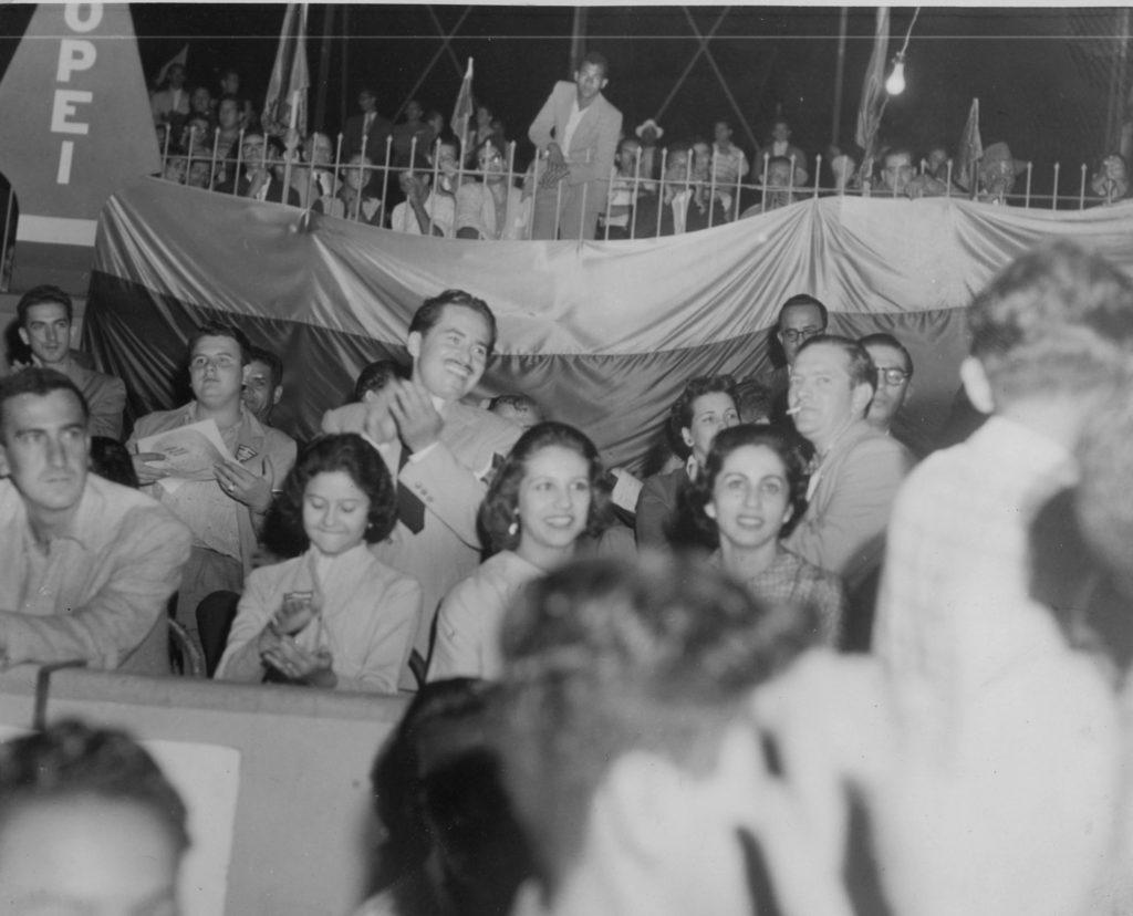 Copei en el Nuevo Circo de Caracas, 1958.