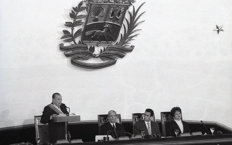 Rafael Caldera Congreso Nacional 1999.