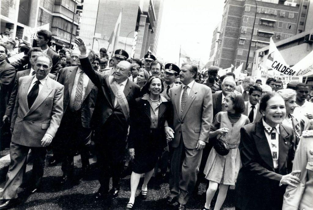 Rafael Caldera 2 de febrero 1999