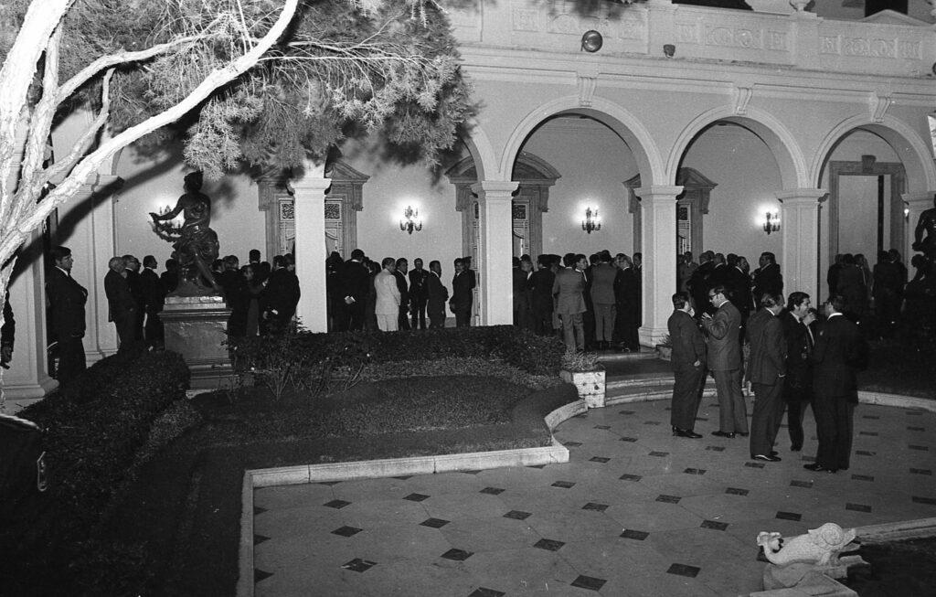 Año Nuevo 1974 en Miraflores