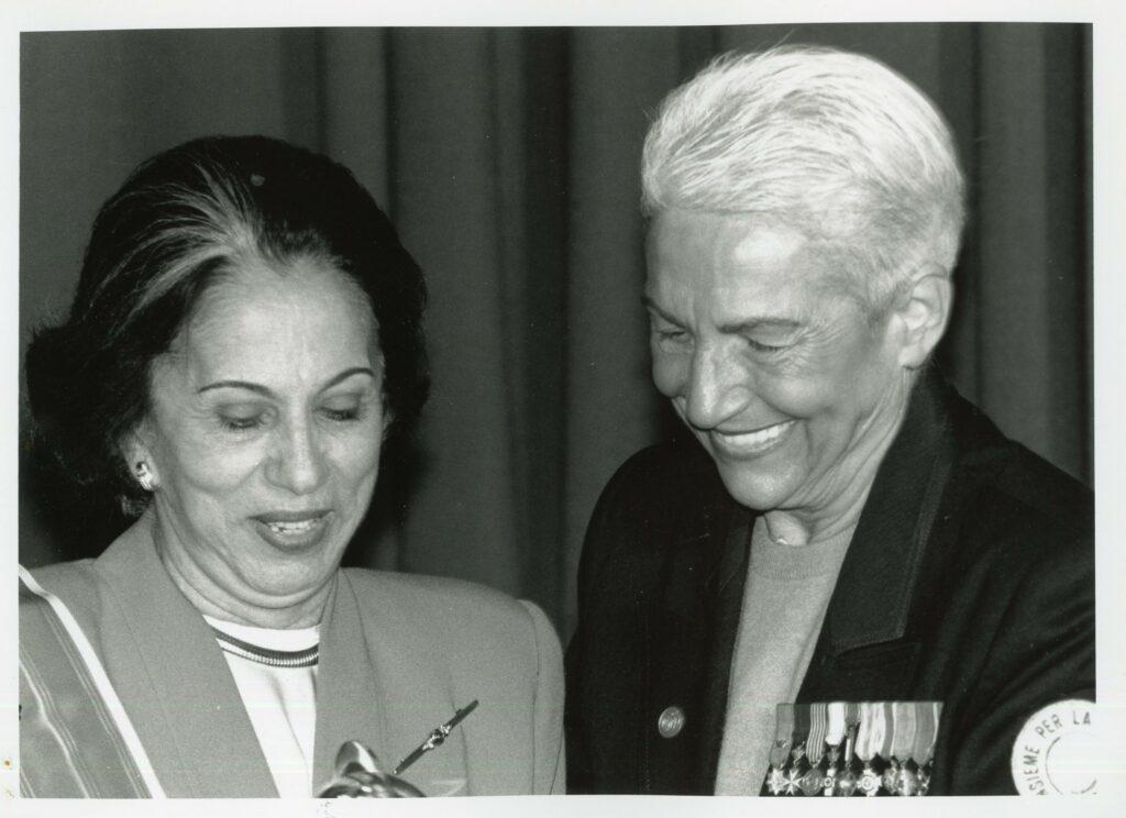 Mujer por la Paz, distinción a Alicia Pietri